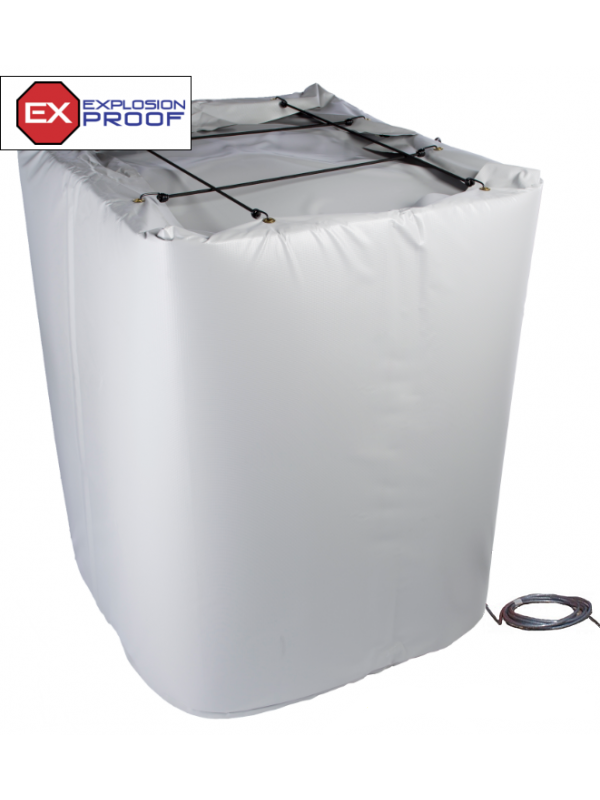 Explosion proof tote heating